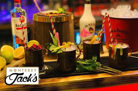 Monterey Jack's cocktails, Perth or Stirling