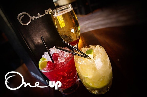 One Up festive cocktails