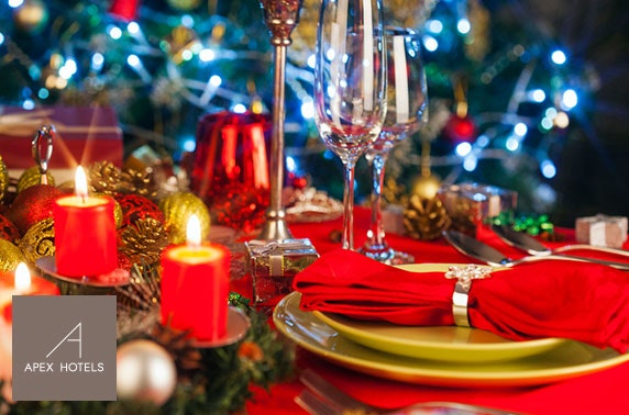 Apex City Quay Dundee festive dining & drinks - from £7pp