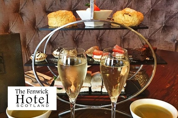 Fenwick Hotel Prosecco or gin afternoon tea