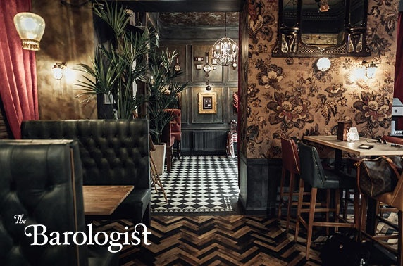 Afternoon tea at The Barologist, Leith