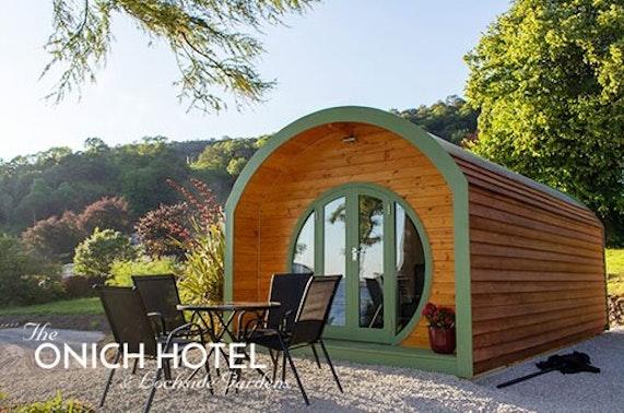 Highland beach pod - from £59