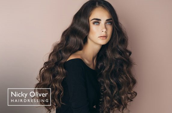 Nicky Oliver hair & Prosecco, Northern Quarter