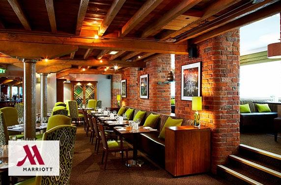 Marriott Victoria & Albert Hotel afternoon tea