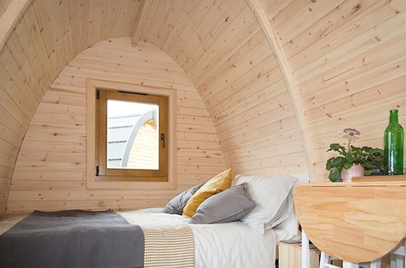 Eco Pods Kilry stay