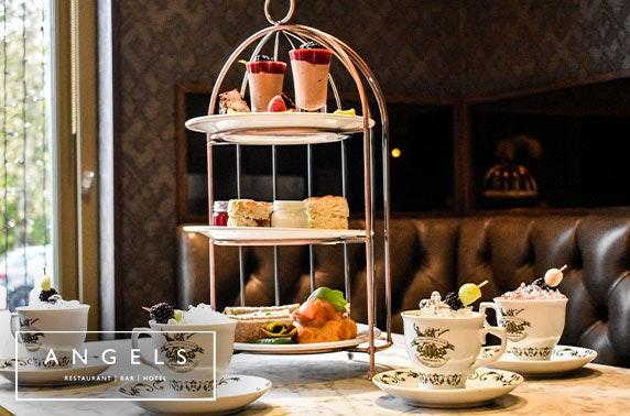 Angels Hotel afternoon tea