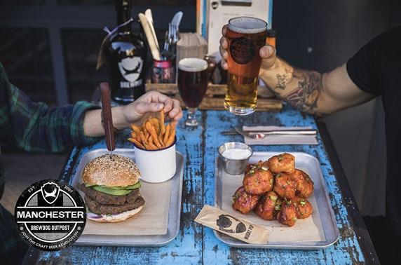 BrewDog Outpost burgers & beer