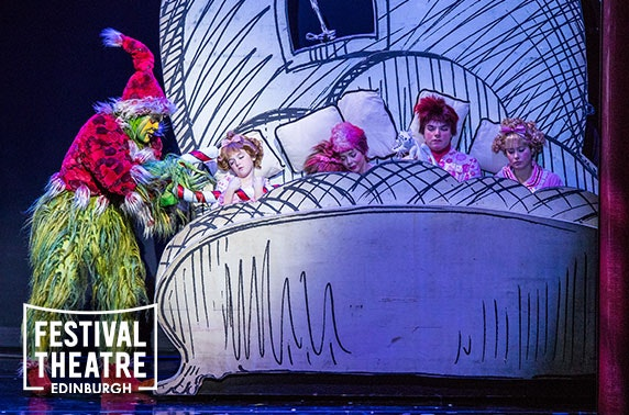 How The Grinch Stole Christmas! The Musical, Festival Theatre Edinburgh