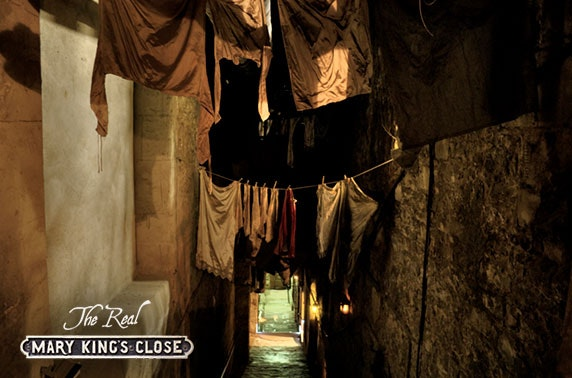The Real Mary King's Close entry