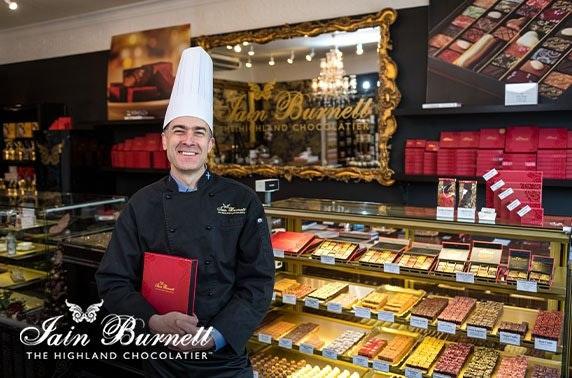 Award-winning chocolatier tasting session