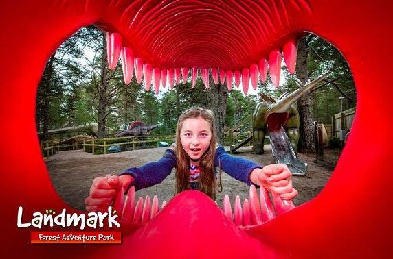 4* Landmark Forest Adventure Park, nr Aviemore