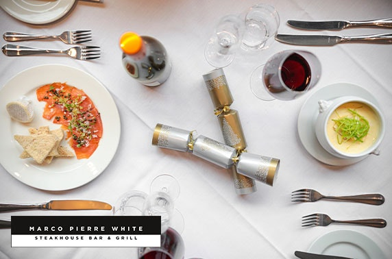 AA Rosette Marco Pierre White dining