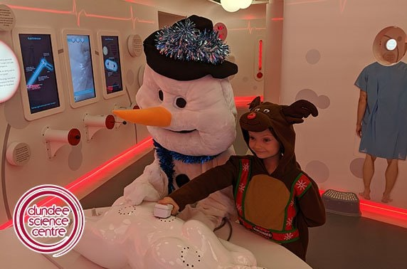 Let It Snow workshop, Dundee Science Centre