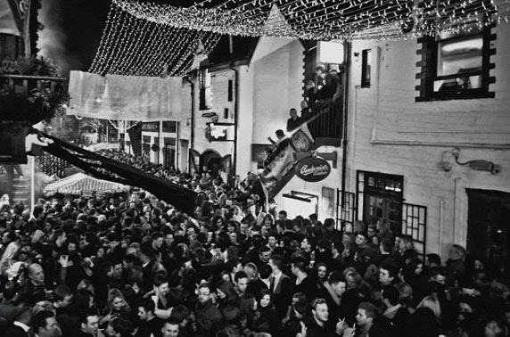 Ashton Lane Hogmanay Street Party
