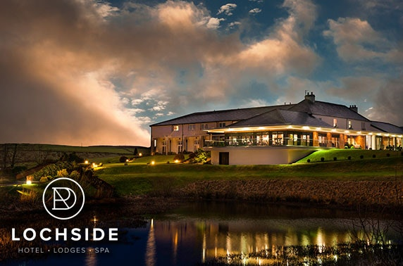 4* Lochside House Hotel & Spa getaway