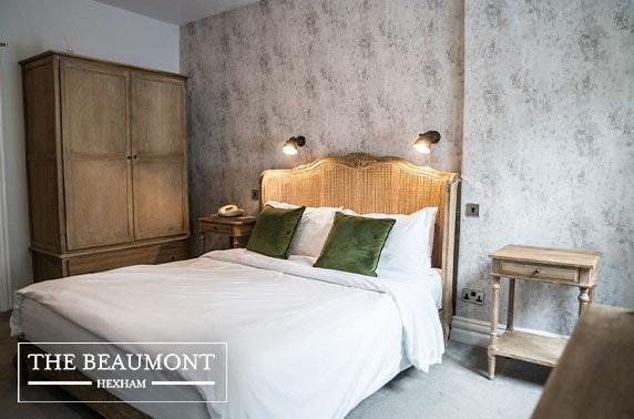 The Beaumont Hotel, Hexham - valid 7 days