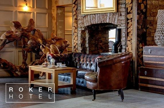 Christmas party overnight at Roker Hotel, Sunderland