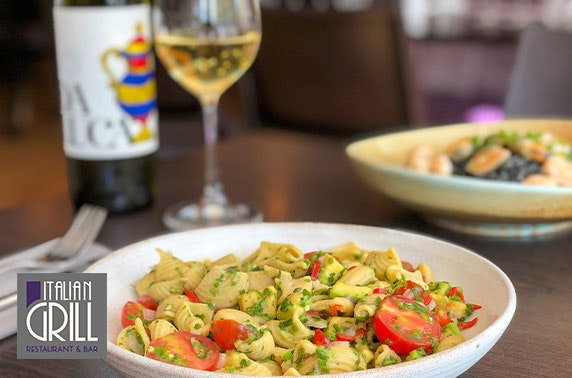 Italian Grill lunch - from £5pp