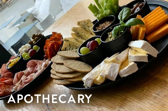 Apothecary Bar & Brasserie dining, Quartermile