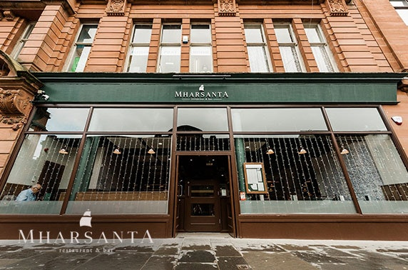 Dining at Mharsanta, Merchant City - from £6pp