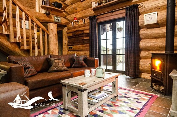 5* Eagle Brae luxury cabin stay - valid 7 days!