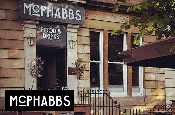 McPhabbs dining - from £5.50pp