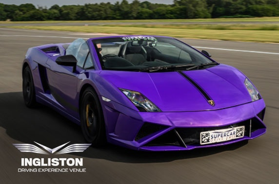 Supercar driving experience, Ingliston