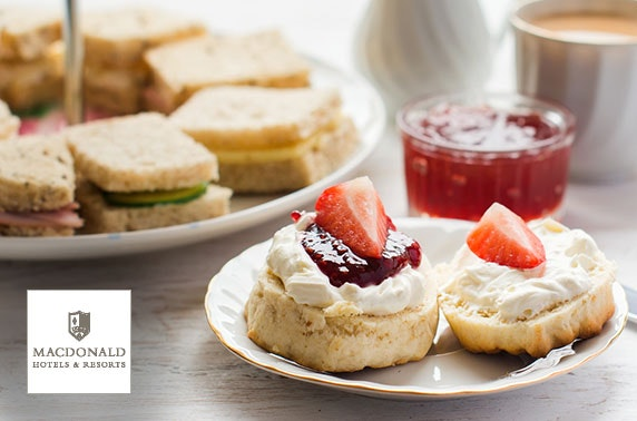 4* Macdonald Linden Hall afternoon tea