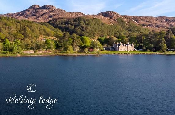 Shieldaig Lodge stay, Gairloch - valid 7 days!