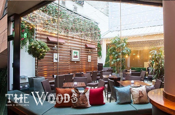 The Woods dining & drinks, City Centre - from £5pp
