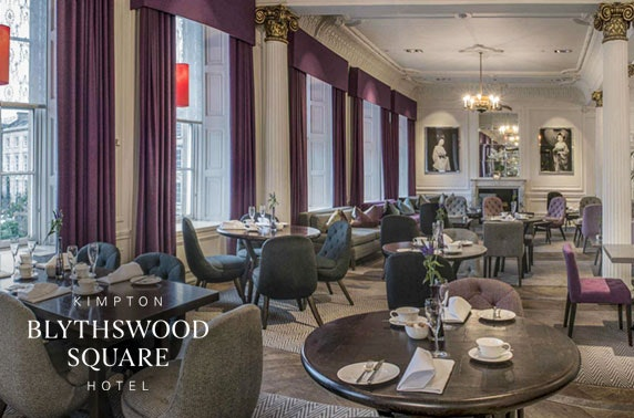 5* Blythswood Square Hotel cocktails & small plates