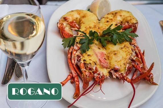 Rogano 6 course tasting menu