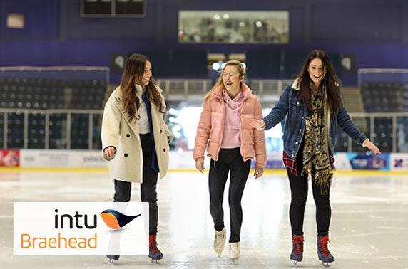 Ice skating at intu Braehead