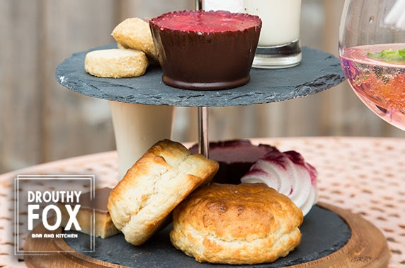 Afternoon tea at Drouthy Fox, Dunfermline