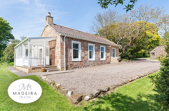Self catering cottage break nr St Andrews
