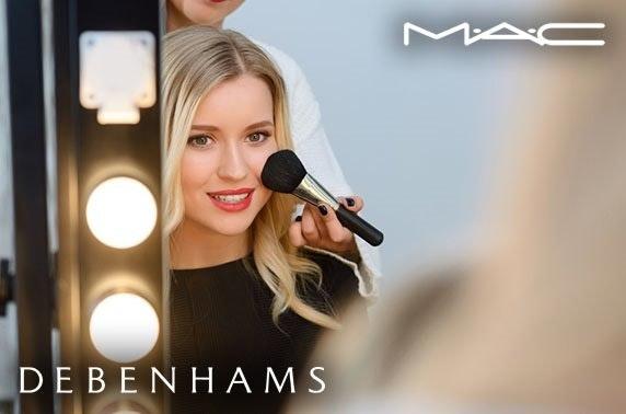Mac makeup masterclass, Debenhams