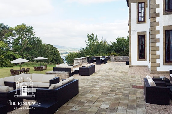 4* Gleddoch Hotel romantic suite stay