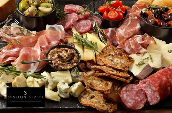 3 Session Street sharing boards & cocktails