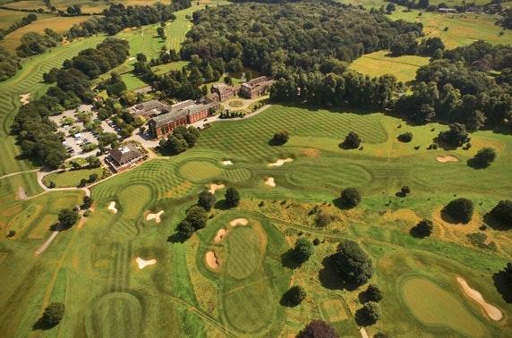 4* Mottram Hall Hotel round of golf - valid 7 days!