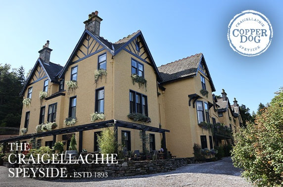 The Craigellachie Hotel stay, Speyside