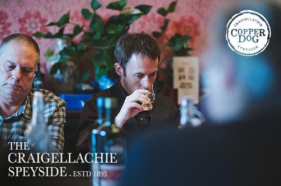 Whisky tasting, The Craigellachie Hotel