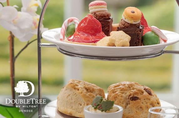 Festive afternoon tea, DoubleTree by Hilton Dundee