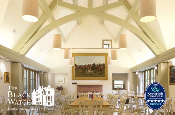5* The Black Watch Castle and Museum brunch and tour