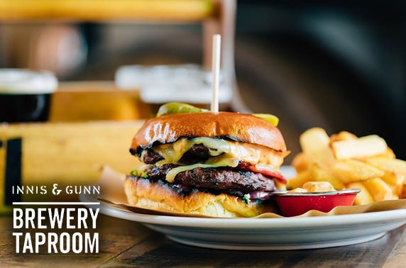 Innis & Gunn Brewery Taproom, Glasgow burgers and drinks