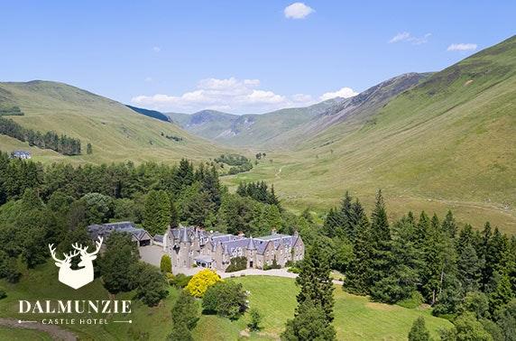 Dalmunzie Castle, Perthshire getaway