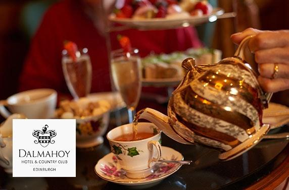 Afternoon tea, 4* Dalmahoy Hotel
