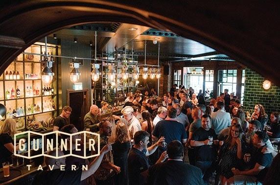 Gunner Tavern voucher spend