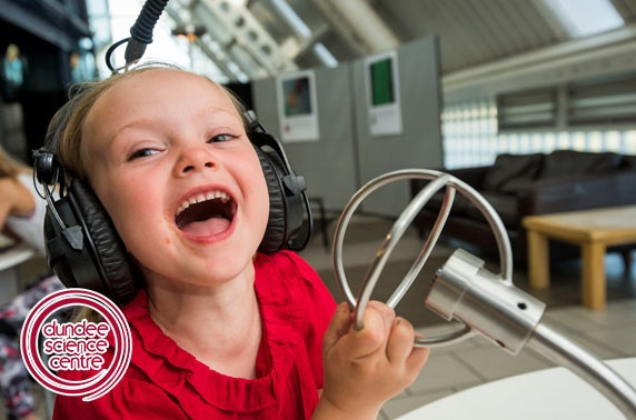 Dundee Science Centre entry – from £4.25pp