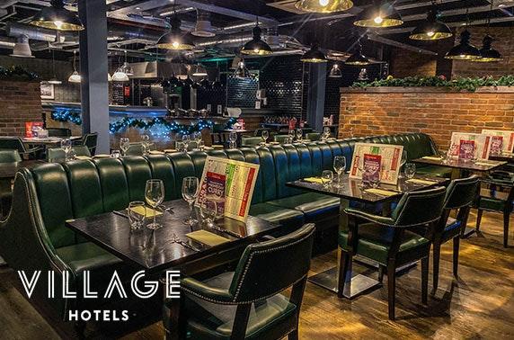 Festive party night, Village Hotel Edinburgh Pub & Grill